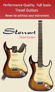Stewart Electric Travel Guitars