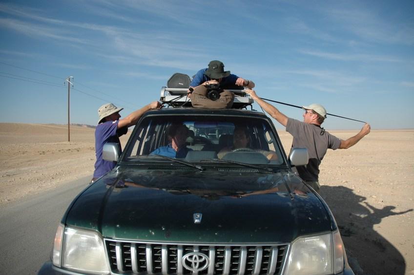 Stewart Innes Syria filming Palmyra Dom Joly Toyota Prado