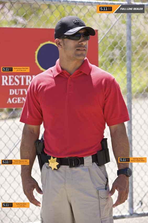 ملابس عسكرية ، ملابس للشرطة ، ملابس للجيش ، قميص بولو عسكري 5.11 Tactical clothing, 5.11 Tactical Polo Shirt