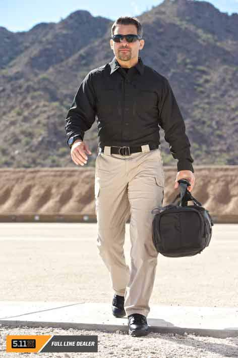 Travel in style, comfort and safety with 5.11 Tactical gear.