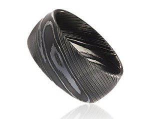 Damascus-steel-rings-wedding bandshunting-and-