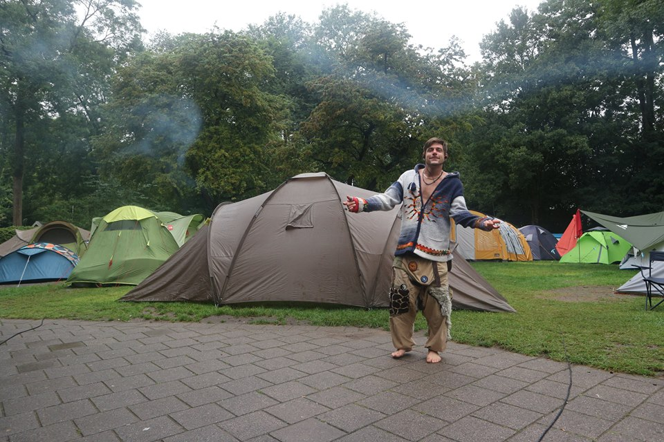 Stewart-Innes-Ghost Amsterdam cycling Holland holiday camping