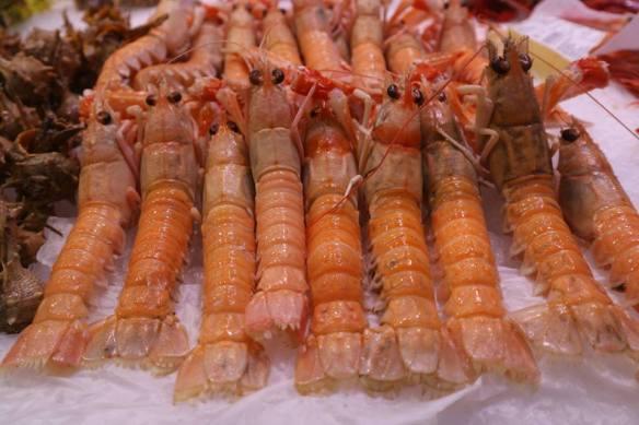 Food, Spain paella lobster Valencia gastronomy