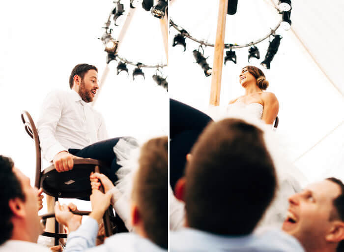 Jewish wedding horah