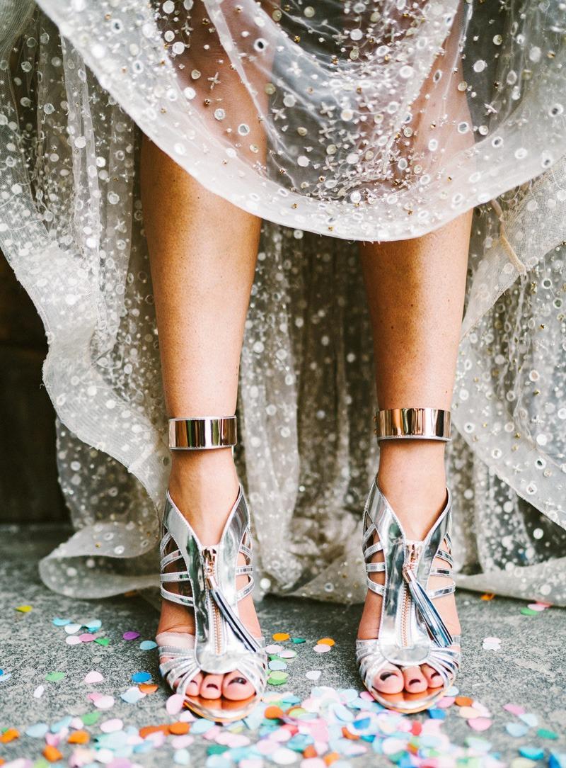 Melbourne Wedding bride shoes