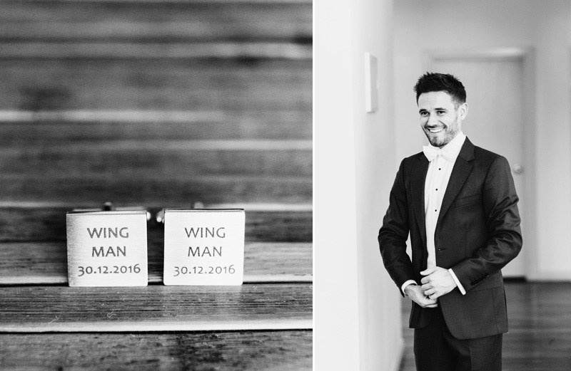 customised wedding groom cuff links