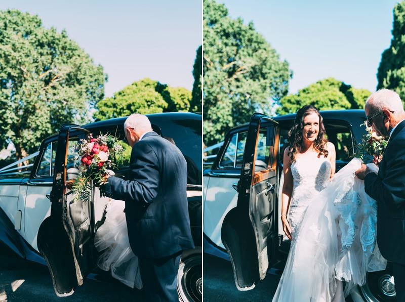 bridal cars wedding