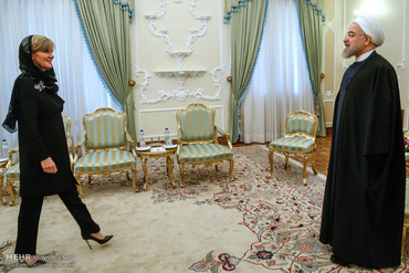 Australian Foreign Minister Julie Bishop meets Supreme Fashion Leader Ayatollah Khamenei