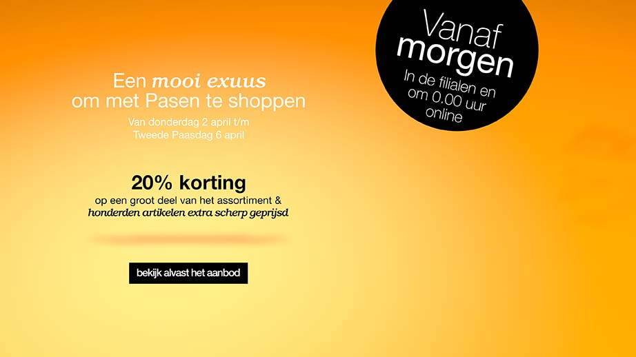 bijekorf advertentie