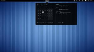 Der Kalender und die Termine
