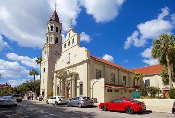 Cathedral Basilica of St. Augustine exterior view