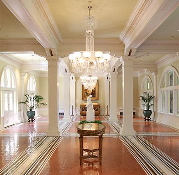 Lightner Museum elegant interior