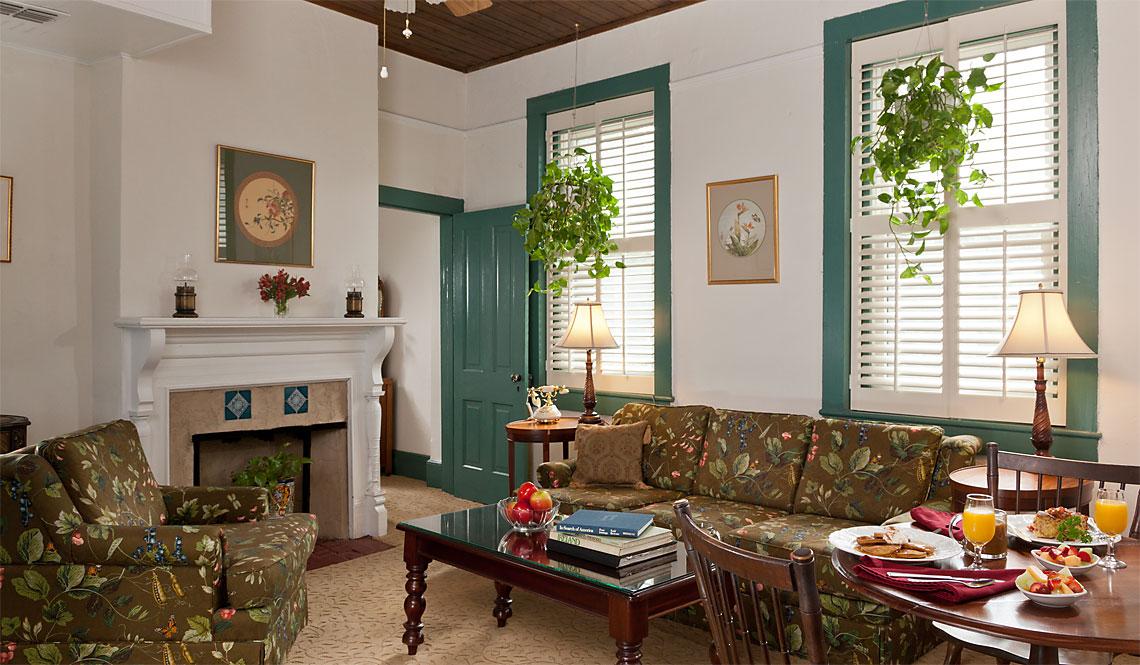 Elizabeth's Suite living room