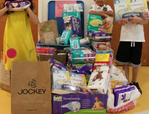 Some of the items collected for Catholic Parish Outreach