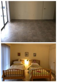 Before After Girls Room