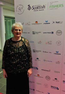 Elma McMenemy, Scottish Hospitality Hero finalist, Scottish Thistle Awards 2019
