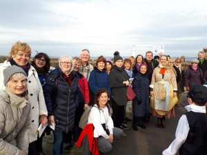 International Tourist Guides day 2019 guides with Newhaven school