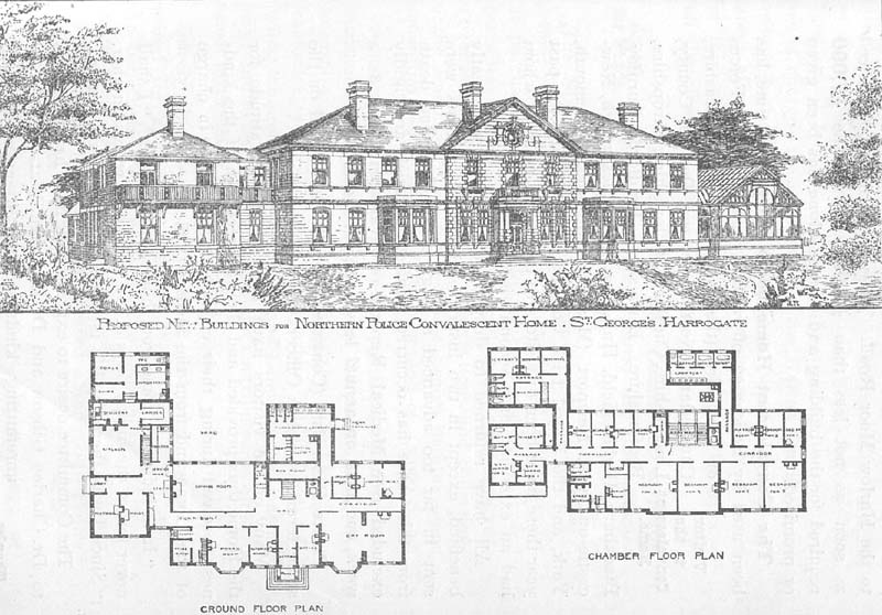 St George's House Northern Police Orphanage Harrogate