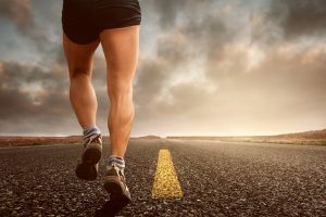By enduring pain, Long distance runner can experience joy