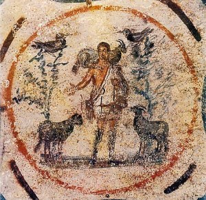Early Christian Art represents the life and teaching of Jesus nor his death (Pentecost, the third incarnation)