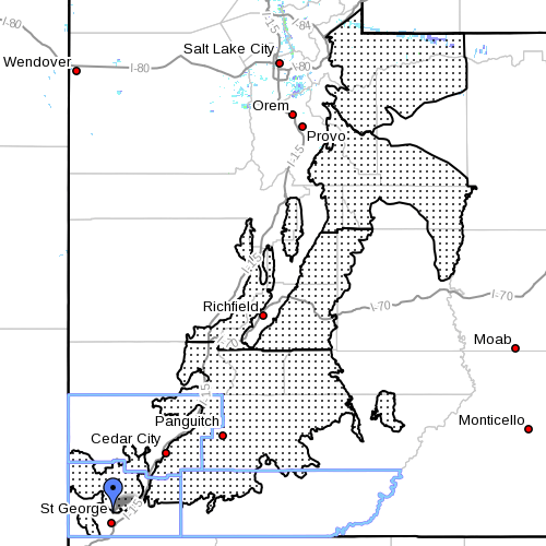 Winter weather advisory for snow and blowing snow