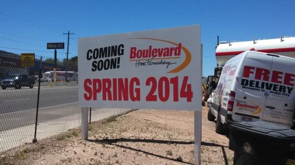 Boulevard Home Furnishings Holds Groundbreaking
