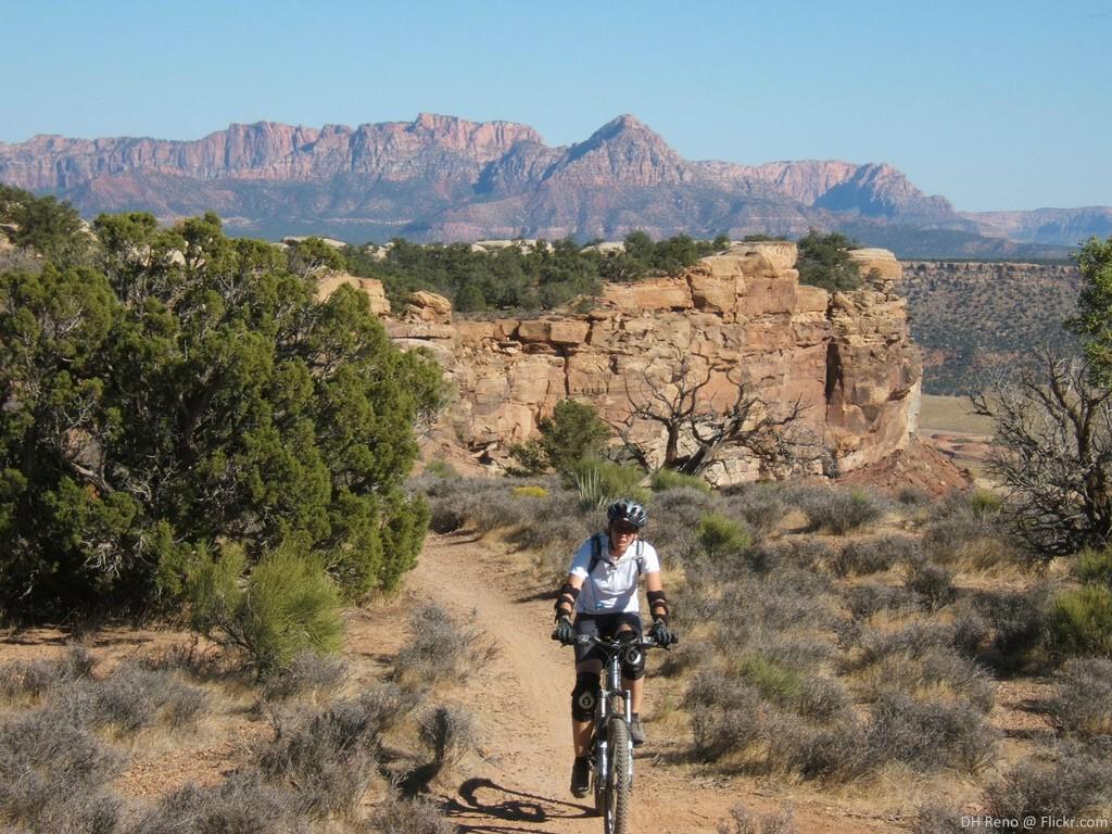 Road biking mountain biking in Utahs Dixie favorite