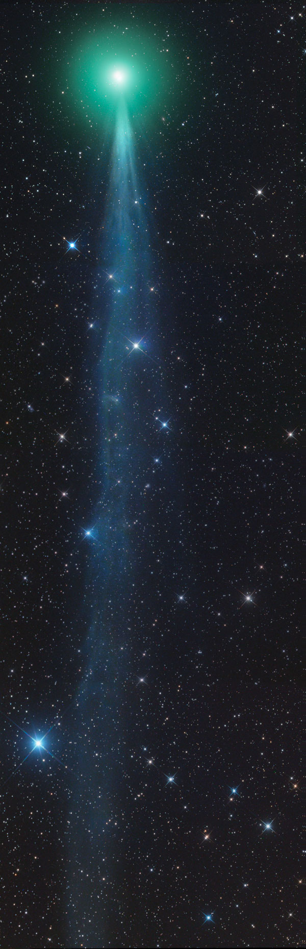 New Comet Lovejoy reaches peak viewing time St George News