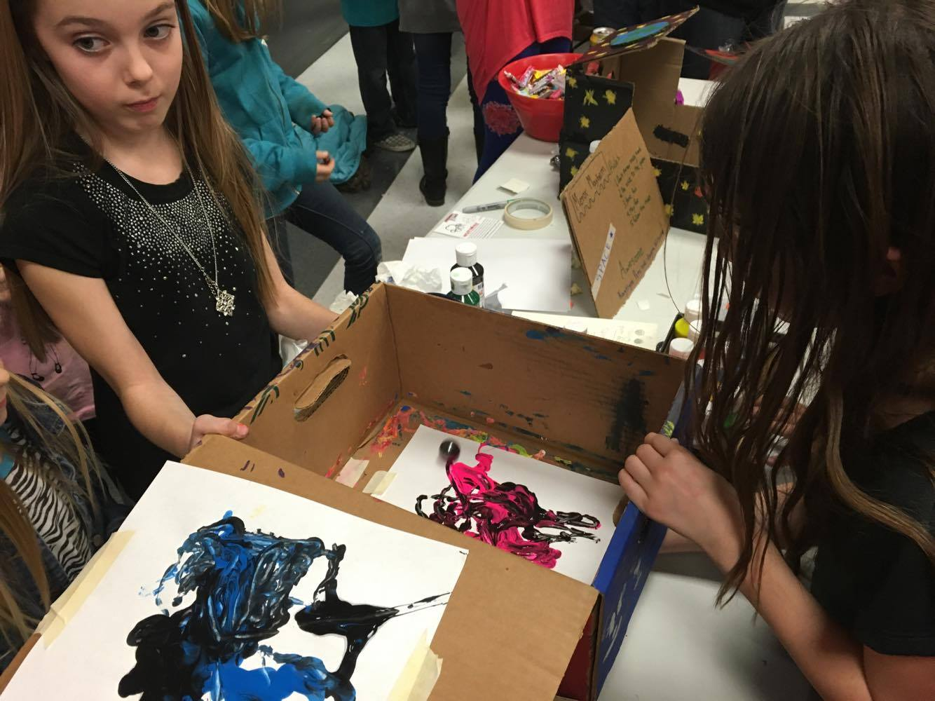 Hurricane Elementary S Cardboard Carnival Shows Stem Education In Action St George News