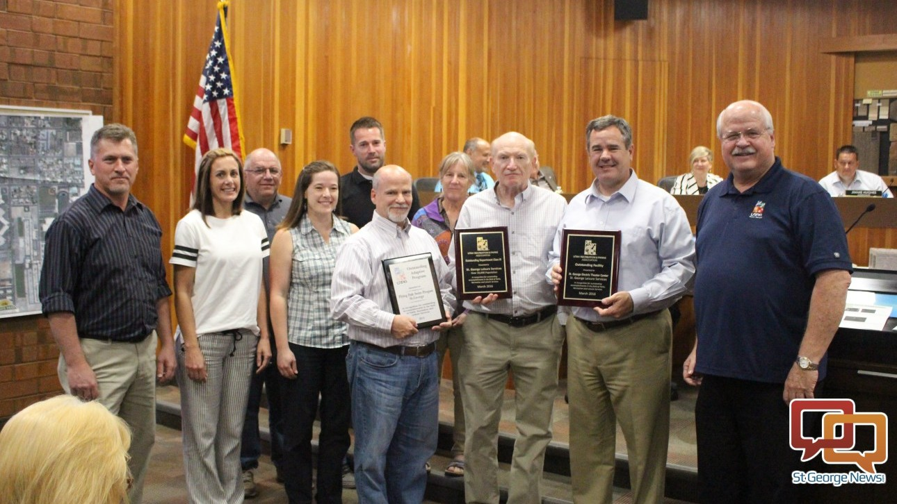 Leisure Services awarded 'Outstanding Department of the Year' by state association – St George News
