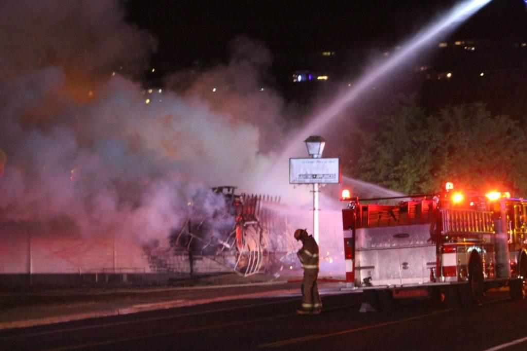 fire destroys historic building on