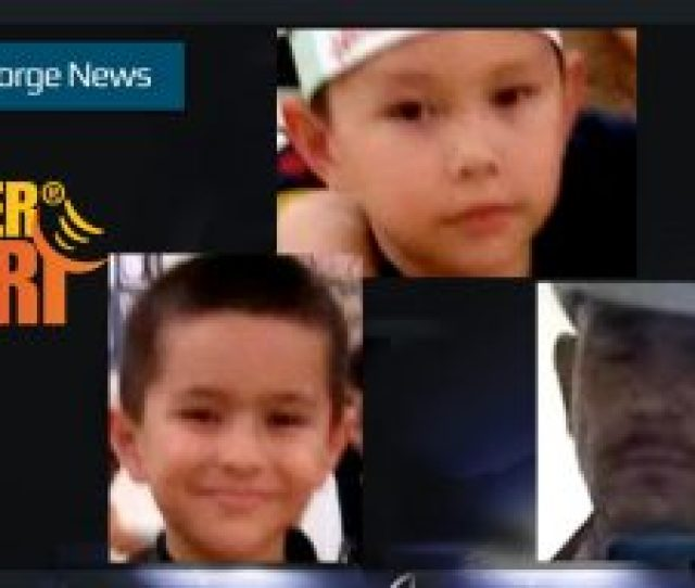 An Amber Alert For  Year Old Victor Nunez Coronado And  Year Old Jonathan Nunez Coronado Was Issued By The Phoenix Police Department Saturday Photos