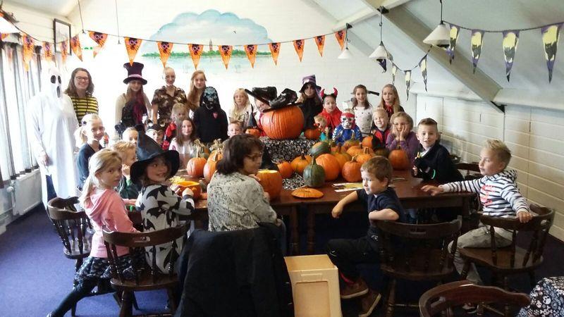 Halloween feestje Nino jeugd