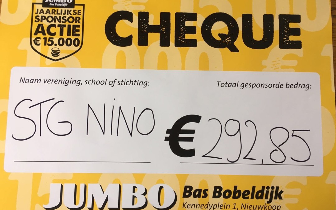 Jumbo spaaractie levert bijna 300 euro op