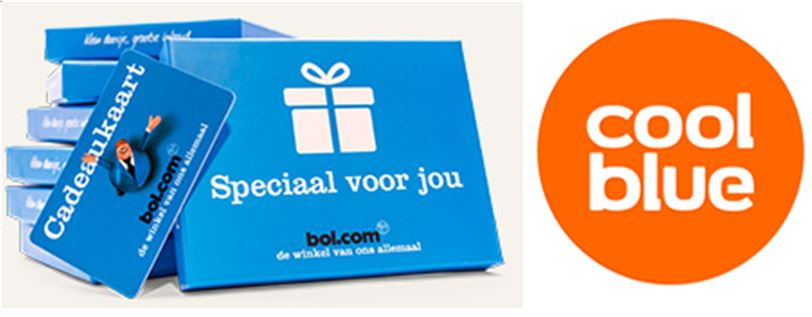 Koop bij BOL.com en Coolblue via NINO