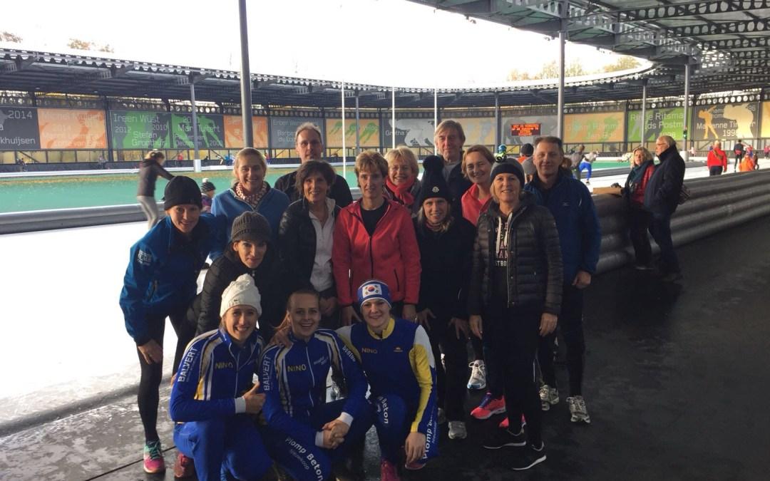 Deelnemers NINO schaatsclinic zeer enthousiast!