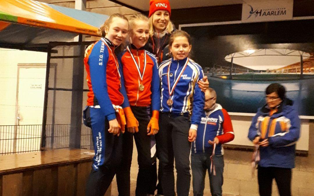 NINO pupillen op het podium bij Aar en Amstel wedstrijdjes