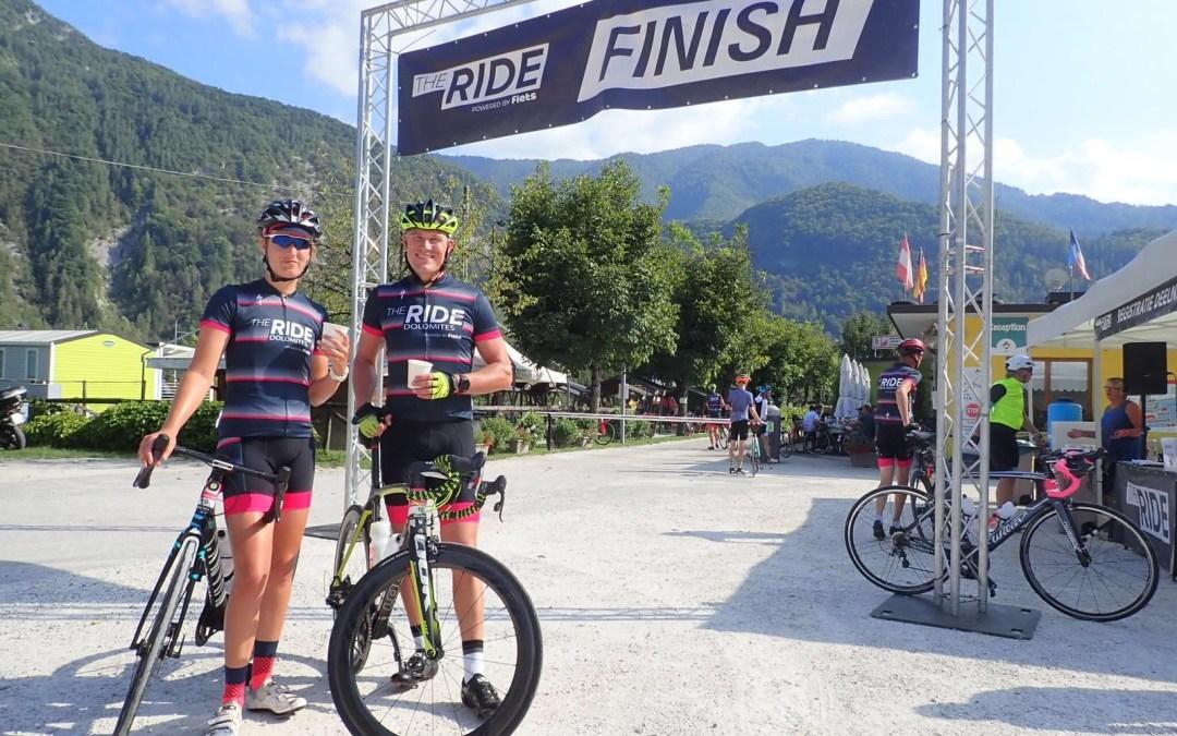 The ride Dolomites
