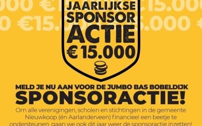 Jumbo sponsor actie