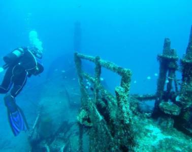 St Helena island diving