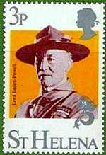 Lord Baden Powell, St Helena Island