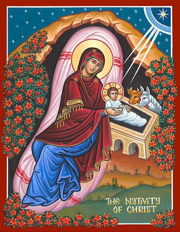 nativity of christ icon