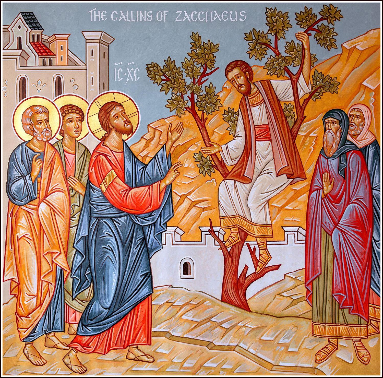 The Calling of Zacchaeus