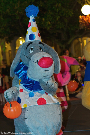 Familiar characters like Eeyore put on their favorite costumes to the delight of young and old.