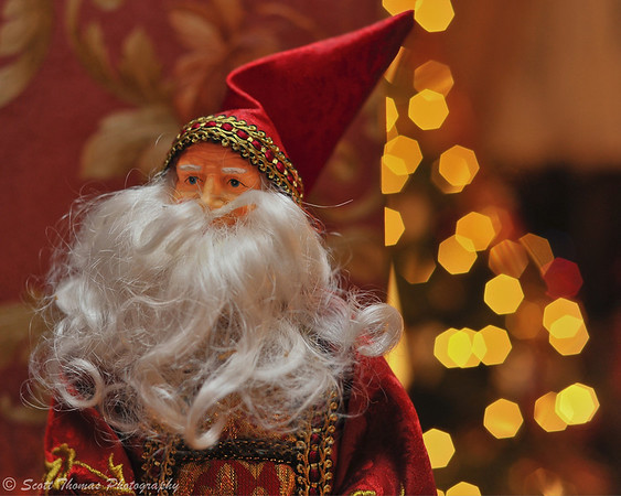 Santa Clause figurine.