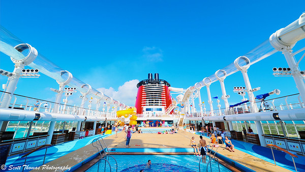 Deck 11 is the center of activity on the Disney Dream.
