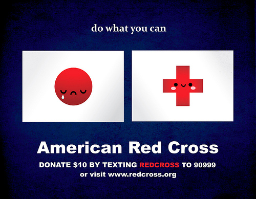 Donate $10 by texting REDCROSS to 90999