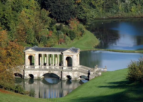 Rule of Thirds: Palladian Bridge, Prior Park, Bath, England. © Scott Thomas Photography