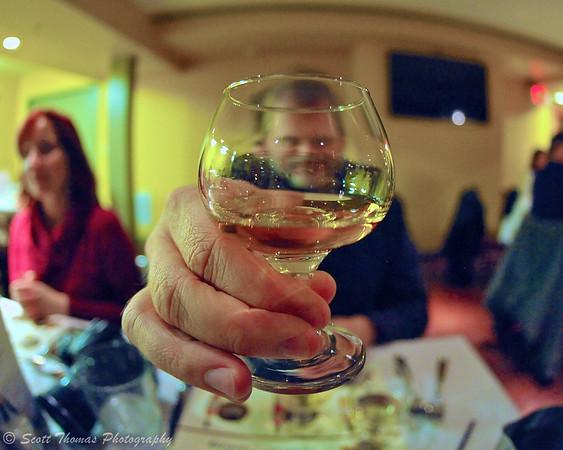 A glass of Scotch Whisky.
