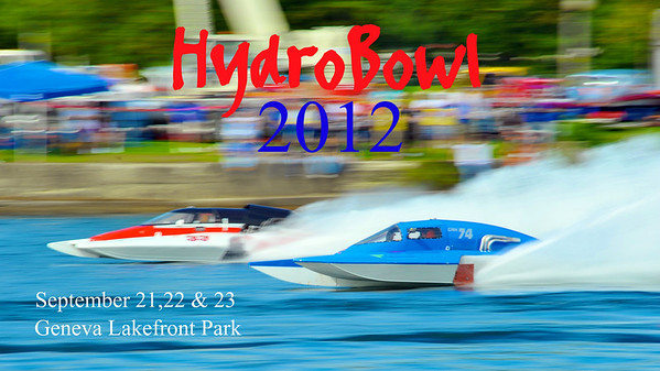 Hydrobowl 2012 Poster.